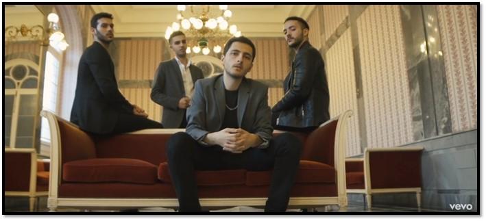Pepe Esteban, Daniel Sánchez, Antonio García y J. Mercader