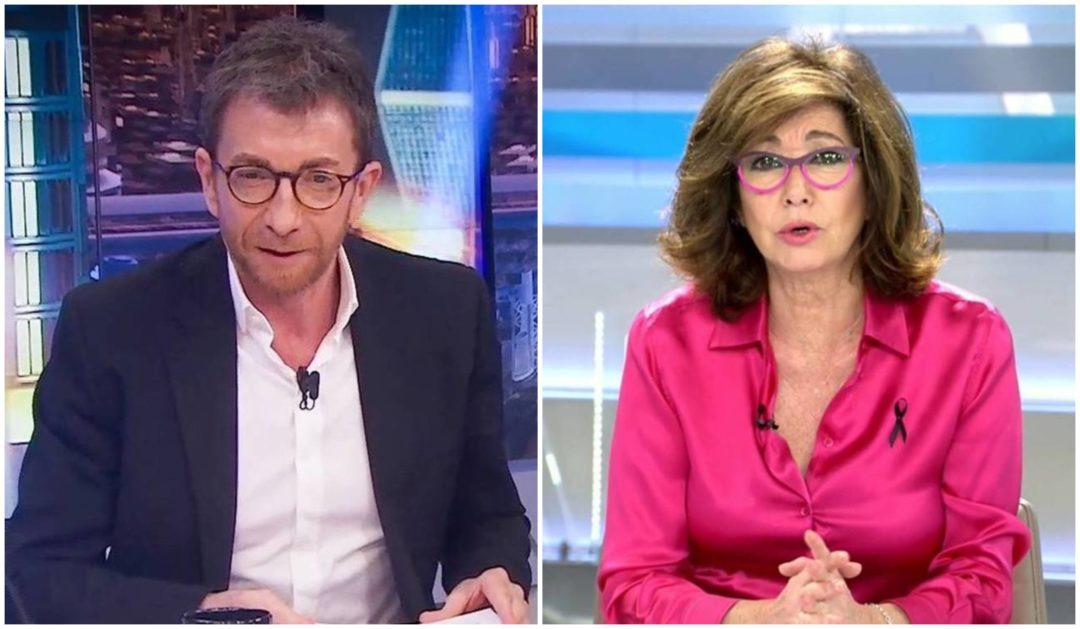 """Ana Rosa Quitana y Pablo MotosLas """"joyitas"""" de algunos presentadores con la COVID-19"""