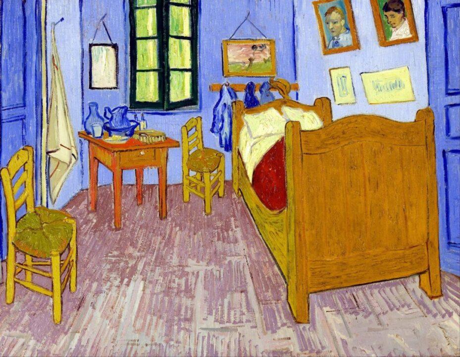 La Habitación de Van Gogh en Arlés (1889)