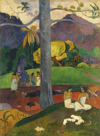 """""""Mata Mua"""" el cuadro de Gauguin del que todo el mundo habla"""