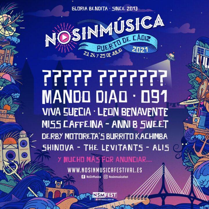 FestivalEl Festival No Sin Música de Cádiz aplaza sus fechas a 2021