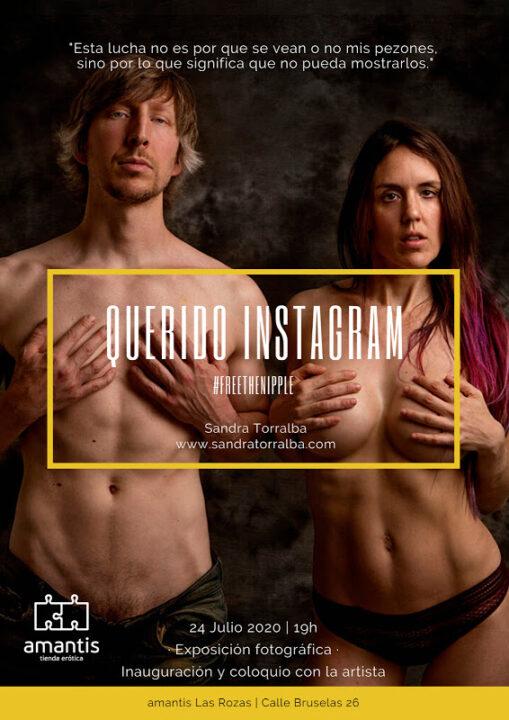 #FreeTheNipple'Querido Instagram': una exposición en Madrid inspirada en el movimiento #freethenipple