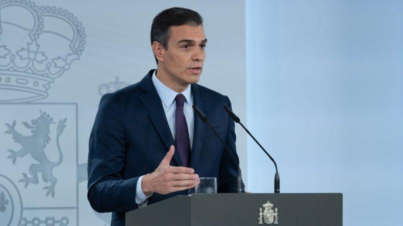 """Pedro Sánchez asegura que España está """"a 100 días de lograr la inmunidad de grupo"""""""