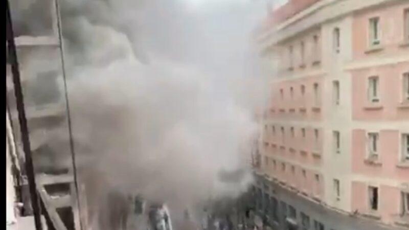 🔴 Madrid 🔴Una fuerte explosión en una residencia sacerdotal en el centro de Madrid deja tres muertos y una decena de heridos