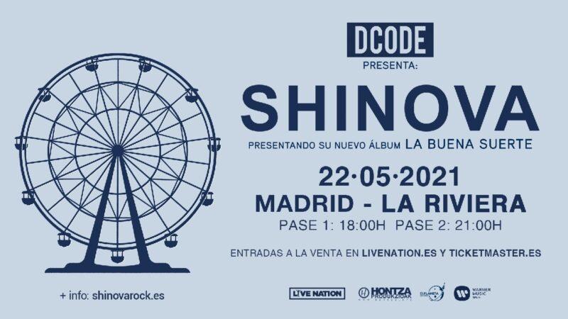📀 Lanzamiento 📀Shinova presentará su nuevo disco en Madrid