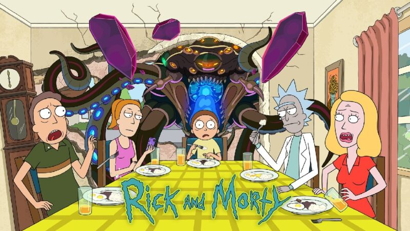 """📺 Series 📺HBO y TNT estrenarán la quinta temporada de """"Rick y Morty"""" el 21 de Junio"""