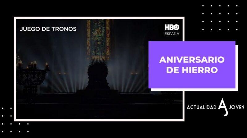 """📺 Series HBO 📺HBO anuncia el Aniversario de Hierro por los 10 años de """"Juego de Tronos"""""""