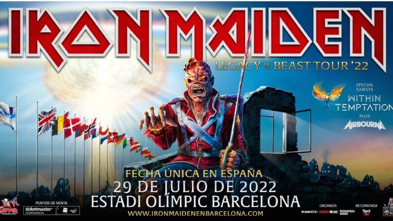 🎸Concierto Iron Maiden 🎸Iron Maiden aplaza su concierto en Barcelona a julio de 2022