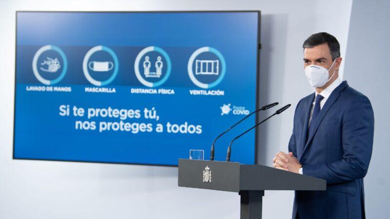 Pedro Sánchez anuncia el fin del estado de alarma